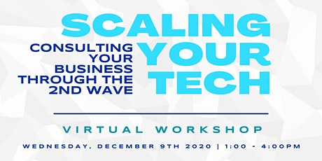 Workshop: Scaling Your Tech & Consulting Business Through the 2nd Wave tickets