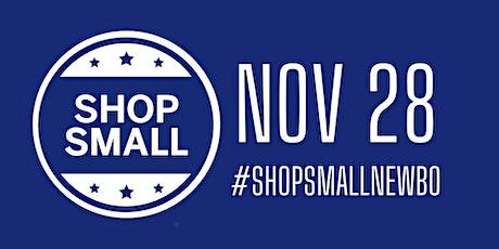Small Business Saturday at NewBo City Market!