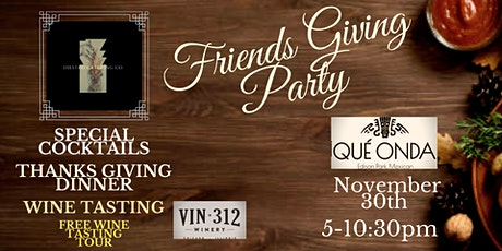 FriendsGiving Party tickets