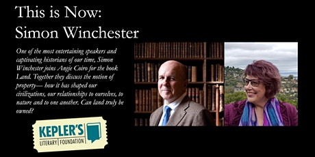 This is Now: Simon Winchester tickets