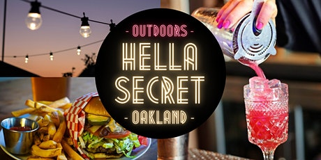 HellaSecret Outdoor Comedy & Cocktail Night : Oakland / 2021 tickets
