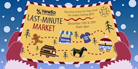 The Last-Minute Market at NewBo City Market! tickets