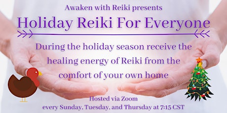 Holiday Reiki For Everyone tickets