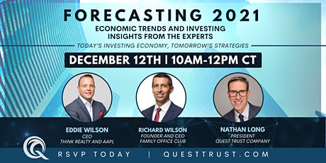 Forecasting 2021: Economic Trends and Investing Insights from the Experts tickets