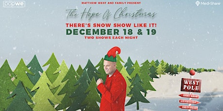 Matthew West  - The Hope of Christmas | 7pm ET/6pm CT/5pm MT/4pm PT tickets