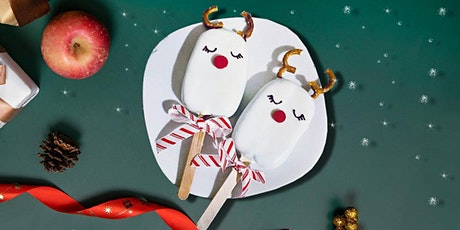 45min Reindeer Rice Krispies Cakesicle Pops Culinary Lesson @2PM (Ages  6+) tickets