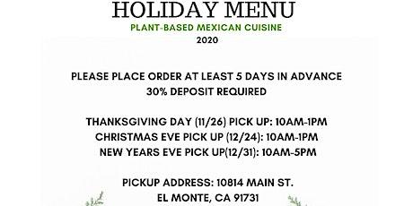 #VeganInElMonte Social Distance Thanksgiving Holiday tickets