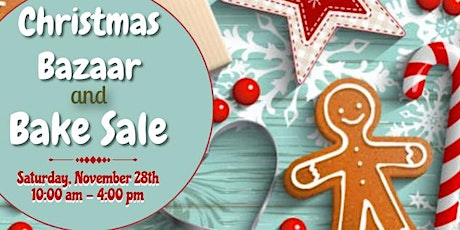 Christmas Bazaar and Holiday Bake Sale tickets