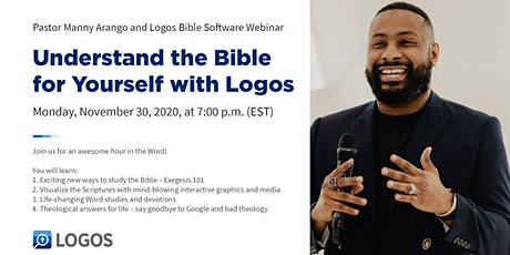 Understand the Bible for Yourself with Logos Bible Software tickets