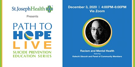 Path to Hope Live - December 3rd with Kelechi Ubozoh tickets
