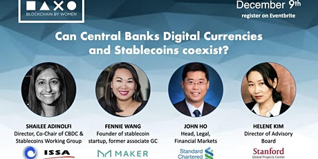 How will Stablecoins and Central Bank Digital Currencies Coexist? tickets