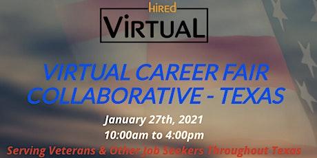 Virtual Career Fair Collaborative - TEXAS tickets