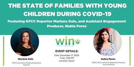 The State of Families With Young Children During COVID-19 tickets