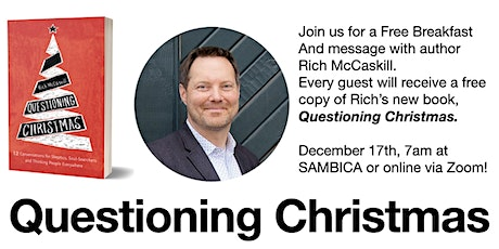 Questioning Christmas: Answers from author Rich McCaskill tickets