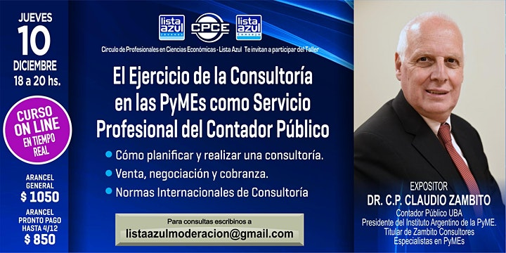Imagen de Consultoría en las PyMEs como Servicio Profesional del Contador Público
