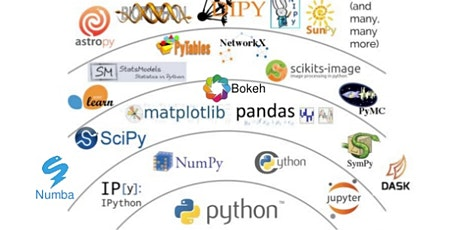 $50!! Online! Python for Data Science, AI/ML and Data Engineering training tickets