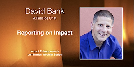 Reporting on Impact with David Bank tickets