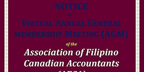 AFCA Annual General Membership Meeting (AGM) tickets