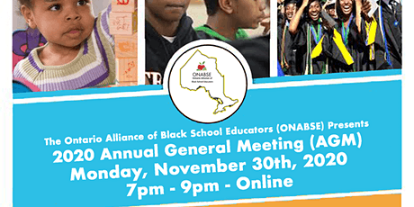 ONABSE 2020 Annual General Meeting tickets
