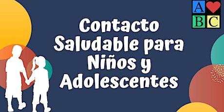Contacto saludable para niños y adolescentes- Entrenamiento Gratis entradas