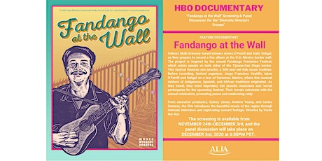 """FANDANGO AT THE WALL Screening & Panel for """"Diversity Directors Groups"""" tickets"""
