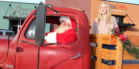 Family Photoshoot with Santa in a Red Truck tickets