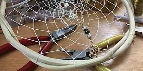 Dream Catcher Workshop. Online. Learn indigenous skills. Make your own billets