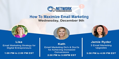 Virtual Summit: How To Maximize Email Marketing tickets