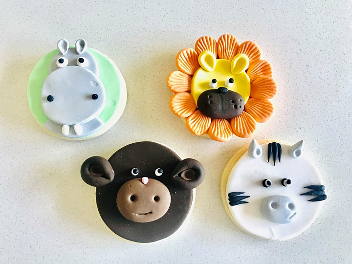 Safari Animal cookies image