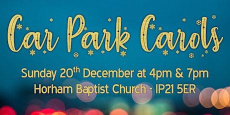 HBC Car Park Carols tickets