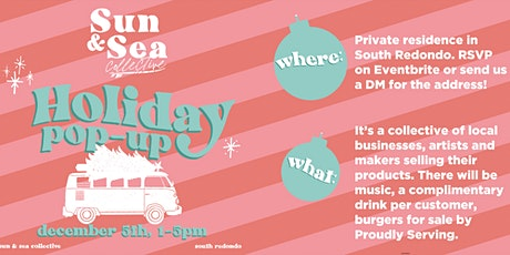 Sun and Sea Collective: Holiday Pop-Up tickets