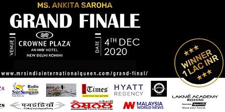 MRS INDIA INTERNATIONAL QUEEN 2020 GRAND FINAL tickets