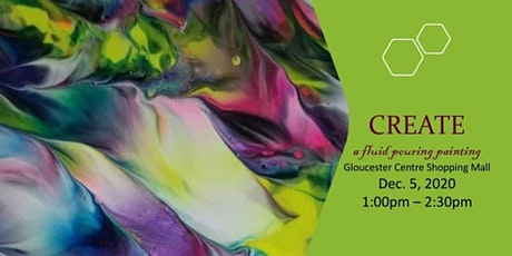 Fluid Art Workshop at the Mall tickets