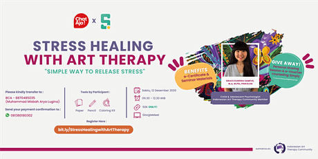 [PAID] Stress Healing with Art Therapy tickets