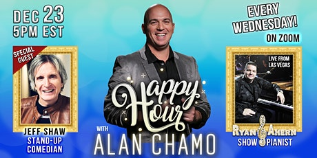 Happy Hour with Alan Chamo | featuring Comedian Jeff Shaw tickets