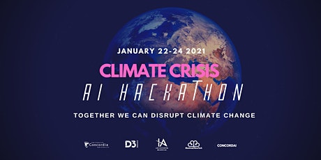 Climate Crisis AI Hackathon + Kickoff Conference tickets