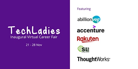 TechLadies Career Fair tickets