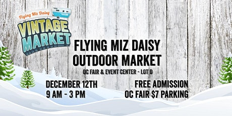 Orange Flying Miz Daisy Outdoor Market Boutique Craft Fair Festival Show tickets