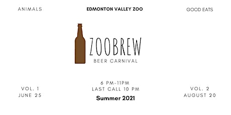 Zoobrew 2021 (Zoo Brew at the Edmonton Valley Zoo) tickets