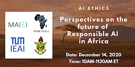 Perspectives on the Future of Responsible AI in Africa tickets