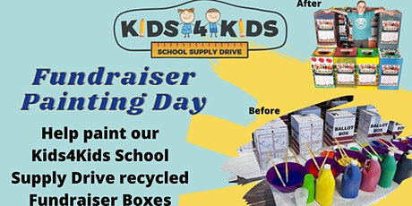 Kids4Kids Fundraiser Painting Day tickets