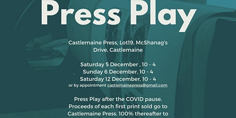 Press Play: Exhibition and sale of full-page prints tickets