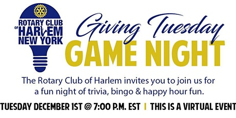 Giving Tuesday Game Night tickets