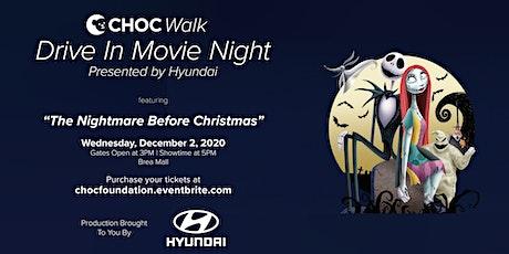 CHOC Walk Drive In Movie Night: The Nightmare Before Christmas tickets