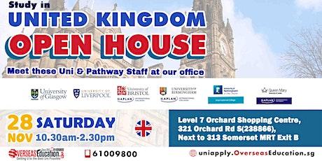 Meet Uni of Glasgow, Liverpool + Bristol,Nottingham & Birmingham Foundation tickets