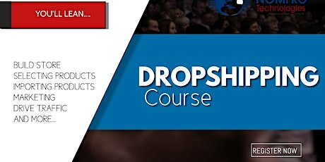 Dropshipping training tickets