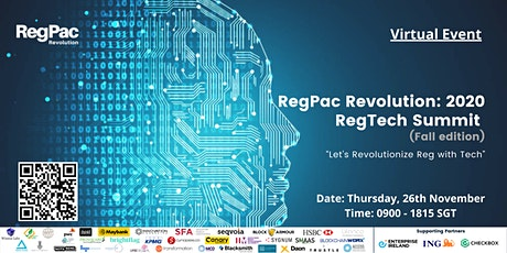 Global RegTech Summit 2020 -Innovating In The Risk Management Space tickets