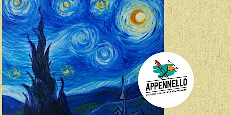 Appennello virtuale - Stelle e Van Gogh biglietti