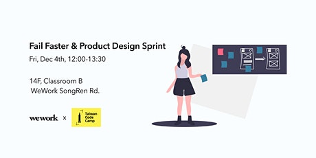 Fail Faster and Product Design Sprint tickets
