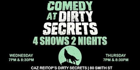 Dirty Secrets Comedy tickets